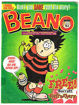 The Beano comic #2965 15th May 1999 Dennis the Menace