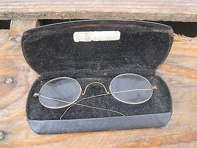 Antique Gold Spectacles Reading Glasses  B6385