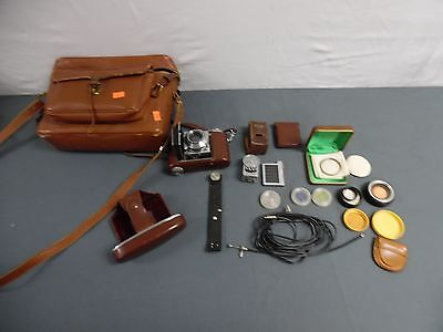 Kodak Retina II a 35mm Camera w/ Accessories