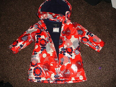 Infant Girls Autograph M&S Oilcloth Coat  -  Age 12 - 18 months