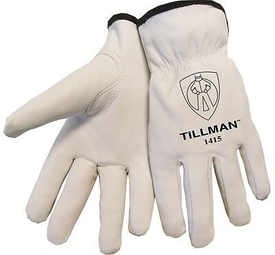 Tillman 1415 Unlined Top Grain Goatskin Drivers Gloves Extra Large XL LG
