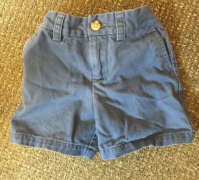Boys Polo By Ralph Lauren Blue Shorts - Sz. 18M