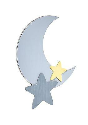 Star Moon Shaped Wall Art Decor Nursery Kids Toddler Bedroom Baby New