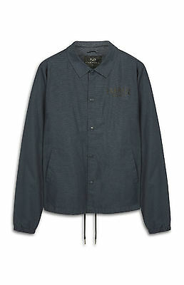 Mens Farrell Navy Blue Button Jacket Coat Vintage Classic Genuine Bnwt Small S