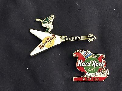 2 Hard Rock Cafe pins from ASPEN