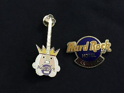 2 Hard Rock Cafe pins from LAS VEGAS
