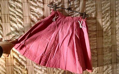 "Vintage Early 1950's Lurrie-Pizer Girls Skirt No ironing"" No Hands"""