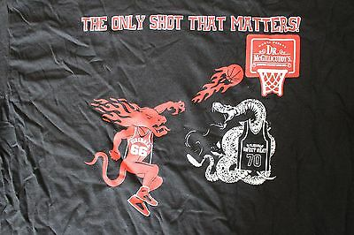 Fireball Whisky Dr McGillicudys The Only Shot That Matters Men's LARGE Shirt