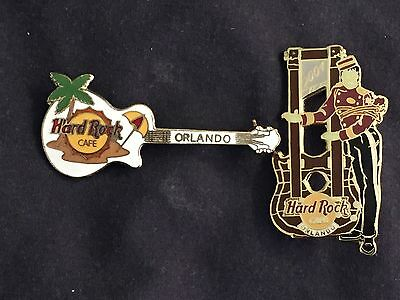 2 Hard Rock Cafe pins from ORLANDO; one LE