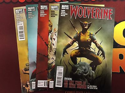 Wolverine (2010) Goes To Hell #1-5 (1,2,3,4,5) Jason Aaron Renato Guedes