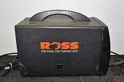 CLEARANCE Ross RXT150p Gasless 150 amp Mig Welder #721946