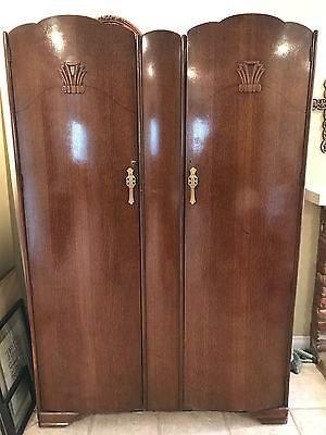 Art Deco Wardrobe Cabinet, Came off the RMS Queen Mary in 1968