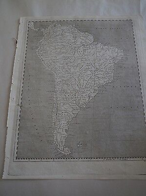 """Antique Maps """"South America & North America""""  Arrowsmith/Lewis"""
