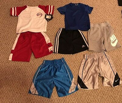 Lot Of Boys Athletic Clothes(Nike, Adidas, Under Armour)-size 2t