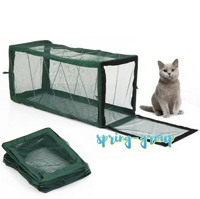 Cat Kitten Puppy Play Tunnel Pet Enclosure Portable Compact 100cm Activity House