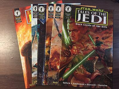 Star Wars Tales of the Jedi Dark Lords of the Sith #1-6 (1,2,3,4,5,6) Tom Veitch