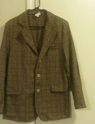 Doctor Who 11th Doctor Plaid Sport Jacket Adult