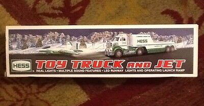 2010 HESS TOY TRUCK AND JET 2010 NEW in Box