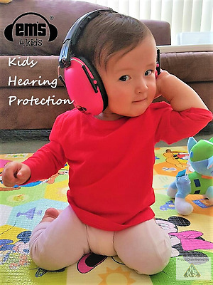 Kids Hearing Protection - Ems for Kids Noise Reduction Earmuffs