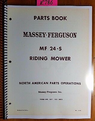 massey ferguson 65 service manual