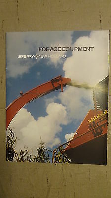 Sperry New Holland Forage Equipment Sales Brochure 1980