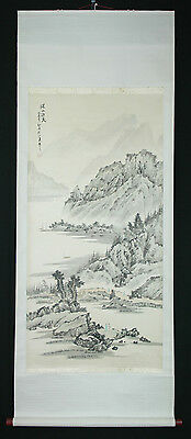Chinese Hanging Scroll: Summer Mountain and Lake @31
