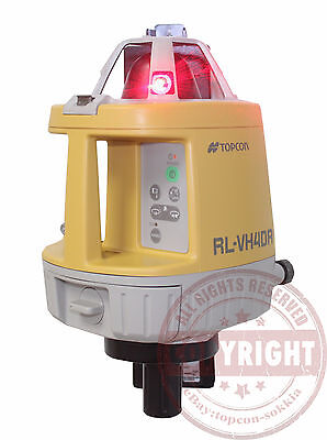 Topcon Rl-Vh4Dr Self-Leveling Rotary Laser Level, Interior / Exterior Pakcage