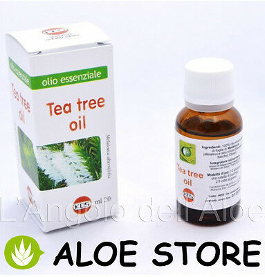 TEA TREE OIL 20ml - OLIO ESSENZIALE KOS - INTEGRATORE ALIMENTARE -