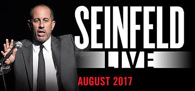 Jerry Seinfeld Tickets x 2 Sydney