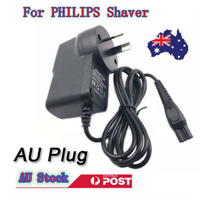 15V AU Plug Charger Power Adapter Lead Cord For PHILIPS Shaver Fits Most Shape