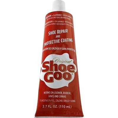 SHOE GOO Skateboard Shoe Repair Glue Black or Clear