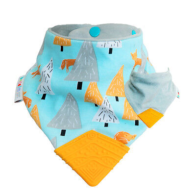 *New* Teething Bib by Becalm Baby - Fox Design
