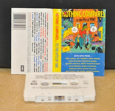 Nothing Compares    -To The Hits Of 1990- Various Artists       - Cassette Tape-