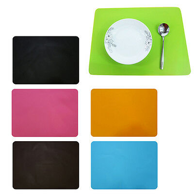 Thickened Waterproof Silicone Dining Table Placemats Baking Pads Non-slip Mat