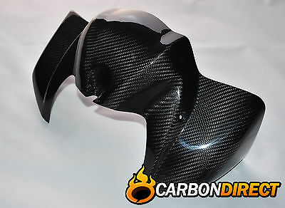 Yamaha Fz1 100% Carbon Fibre Front Petrol/fuel Tank Cover In Gloss Twill