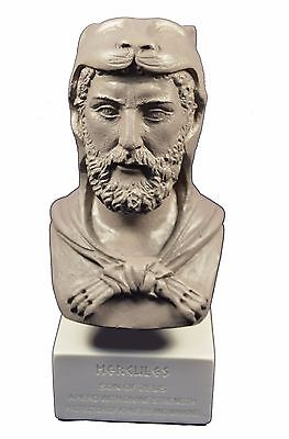 Hercules sculpture ancient Greek hero demigod museum reproduction bust gb