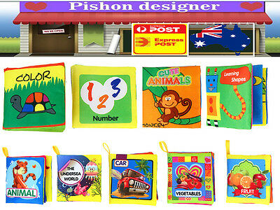 Cognize Fabric Book Educational Toy for Kid Baby Intelligence Development IQ