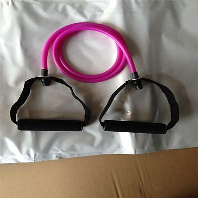 Muscle Elastic Resistance Stretch Band Rope Fitness Exercise Pilates Yoga Gym T!