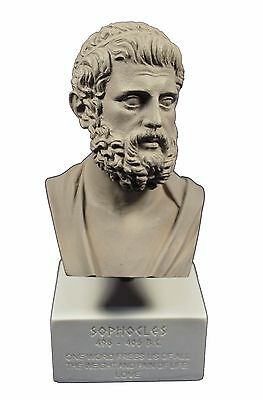 Sophocles sculpture ancient Greek philosopher museum reproduction bust gb