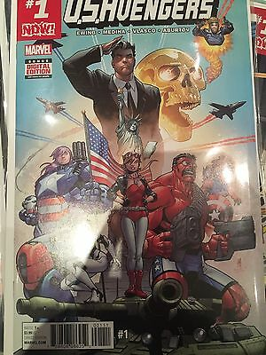 Marvel Us Avengers #1 First Print New/unread Bag & Board