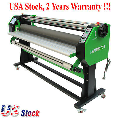 "USA NEW 67"" Stand Full-auto Single Side Wide Format Laminator Laminating Machine"