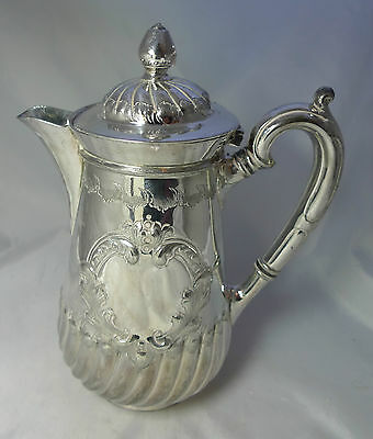 Antique EPBM Silver Plated Jug 21cm Height By Atkin Brothers A602017