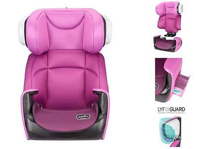 High Back Booster Car Seat Toddler Girl Safety Kid Pink Baby Child Chair New