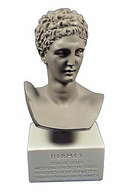 Hermes sculpture ancient Greek God conductor of souls into the afterlife gb