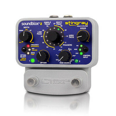 Source Audio SA-224 Soundblox 2 Stingray Guitar Multi-Filter, B-Ware