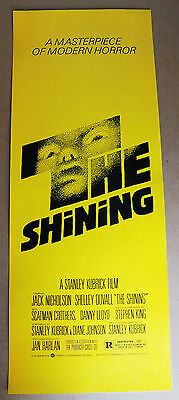 The Shining (1980) Original Insert 14X36 Movie Poster - Rolled  -  Mint -  Rare!