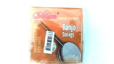 Alice AJ04 Banjo Strings (3 SETS)