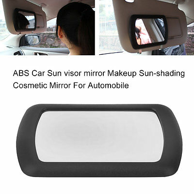 ABS Car Sun visor mirror Makeup Sun-shading Cosmetic Mirror For Automobile ZJBM