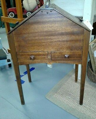 UNIQUE Antique shaker style Sewing craft Notion Cabinet