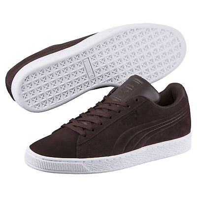 PUMA Basket Suede Classic Embossed Unisexe Chaussures Classiques du sport Neuf